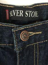 Silver Stone Authentic Boys Jeans Denim 100% Cotton Blue size 14
