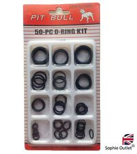 50Pc Assorted O RING SET Rubber O Ring Seals Tap Plumbing O-Ring Washer Kit Pack
