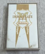 Madonna ~ The Immaculate Collection ( Malaysia Press ) Cassette