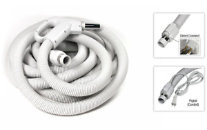 35 Foot Electric Direct Connect Central Vacuum Hose - Fits BL & FF