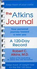The Atkins Journal: Your Personal Journey Toward a New You, A 120-Day-ExLibrary