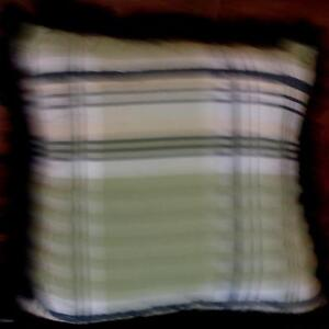 """Cannon 18"""" x 18"""" Decorative Pillow, with Fringe- BRAND NEW WITH TAGS"""