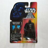 Kenner STAR WARS Darth Vader Power Of The Force Red Orange Card figure Euro