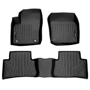 SmartLiner Floor Mats for Toyota CHR 2018-2019 Complete Set Black