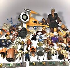 Massive Star Wars Lot Of 50 Toys - 1998, 1999 & 2000's - As Is