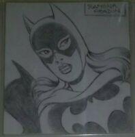 Original Art Sketch Batgirl by Ramona Fradon CBCS AUTHENTIC DC COMICS (CGC) WOW!