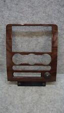 2008 2009 Ford Taurus Woodgrain Center AC Heat Dash Bezel Panel Trim