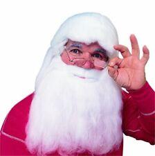 Rubie's Herculon Santa Beard And Wig Set, White, One Size
