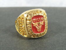 Vtg 1991 CHICAGO BULLS NBA Championship Ring Commemorative Montgomery Ward Promo