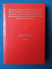 Masonic Book - Statutes - Great Priory - 1992