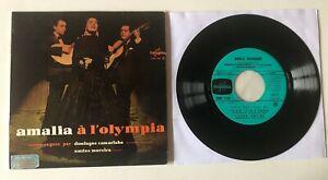 "FADO ORIGINAL EP 7"" COLUMBIA FRANCE AMALIA RODRIGUES A  L'OLYMPIA (EXTRAITS N 2)"
