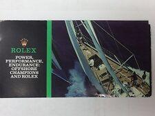 ROLEX pamphlet 1987 USA