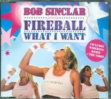 Bob Sinclair Presents Fireball - What I Want 2 Tracks + Video Cd Eccellente