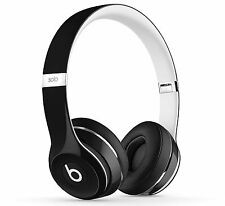 Beats Solo 2 Luxe Edition Wired Headphones Black / Foldable Compact Lightweight