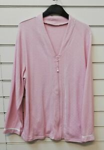 LADIES QUALITY ZIP THROUGH WAFFLE BED JACKET DRESSING GOWN ROBE UK SIZE 8