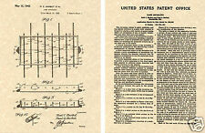 FOOSBALL TABLE US PATENT Art Print READY TO FRAME!! 1942 soccer kicker tornado
