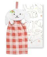 Celebrate Easter Together Dish Towel - Set of 2  - Bunny Rabbit