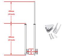 2 50mm 12V 330lbs Linear Actuator + Controller Bracket Kit for Door Opener AU