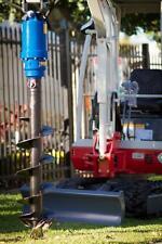 Erdbohrer für Minibagger 1t- 2,5t mit Schnecke Bohrer 300mm Durchmesser