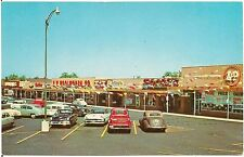 Shopping Center in Wooster OH Postcard