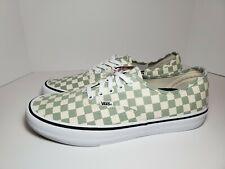 Men's Vans Authentic Pro Checkerboard Desert Sage # VN000Q0DU13 Size 12 DS