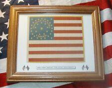 American 34 star Civil War flag....23rd New Jersey Flag