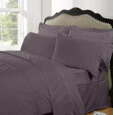 Lenzuola da sotto con angoli viola lavabile in lavatrice 100% Cotone
