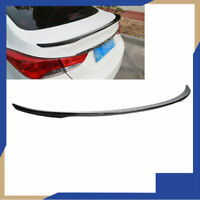 Painted Black For HYUNDAI Elantra 11-16 Sedan Rear Wing Spoiler Trunk Lip Trim