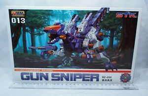 1/72 Zoids HMM 013 RZ-030 Velociraptor Gun Sniper Battle Machine with pilot