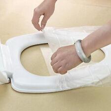 10Pcs Pocket Size healthful Safe Disposable Paper Toilet Seat Covers Public