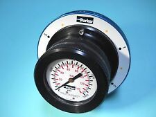 PARKER MSG-10620 HYDRAULIC 6 POSITION MULTI SELECTOR GAUGE 0-2000 PSI NEW