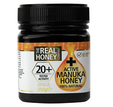 The Real Honey Company 20+ Active Manuka Honey 250g