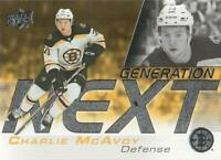 2019-20 Upper Deck Hockey Generation Next #GN-11 Charlie McAvoy