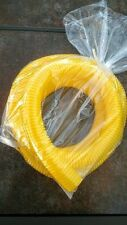"""1/2"""" x 6' Yellow Split Loom Tubing Wire & Hose Cover Convoluted Audio, Video"""