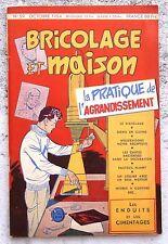 Tillieux Bricolage et Maison octobre 1954 TBE