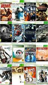 Xbox 360 Games - Buy 1 or Bundle Up - Super Fast Delivery FB.