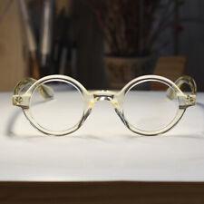 Retro Johnny Depp original glasses womens mens round flesh frame RX eyeglasses