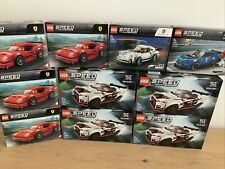 Lego Speed Champions Collection Brand New X 10 Sets