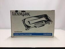 Genuine LEXMARK CYAN C510 High Yield Toner Cartridge 20K0500