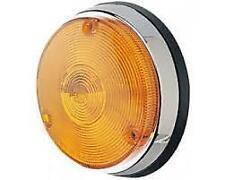Hella 2136-Chrome Trim Indicator Lamp - AMBER - Porsche 906, 908, GT40, Ferrari,