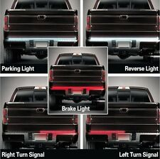 For Chevrolet Colorado 2004-17 LED Tailgate Strip Bar Truck Brake Backup Light
