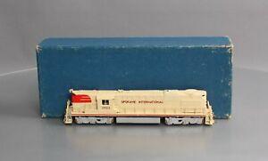 Alco Models D-114 HO BRASS Spokane International  Alco DL-600B Diesel Engine/Box