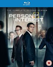 Person of Interest Complete Series 2 Blu Ray All Episodes Second Season UK New