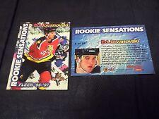1996-97 Fleer Rookie Sensations #6 Ed Jovanovski Panthers