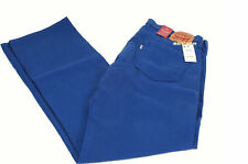$70 Mens LEVIS Jeans 569 LOOSE STRAIGHT Tall 34 x 36 Solid ROYAL BLUE smurf