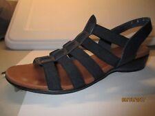 Munro Darian Sandal - Navy Size 7 Narrow