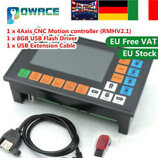 【IT】4 axis CNC controller RMHV2.1 G code Motor Control Panel PLC Stand Alone 32V