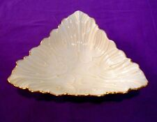 Lenox China Ivory Triangle Dish - Triad Collection