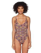 7d70fc282a022 Billabong Sun Tribe One Piece Swimsuit Multi Size M Medium Reversible