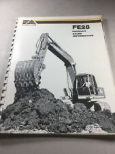 Fiat Allis Fe28 Excavator Product Sales Information Manual
